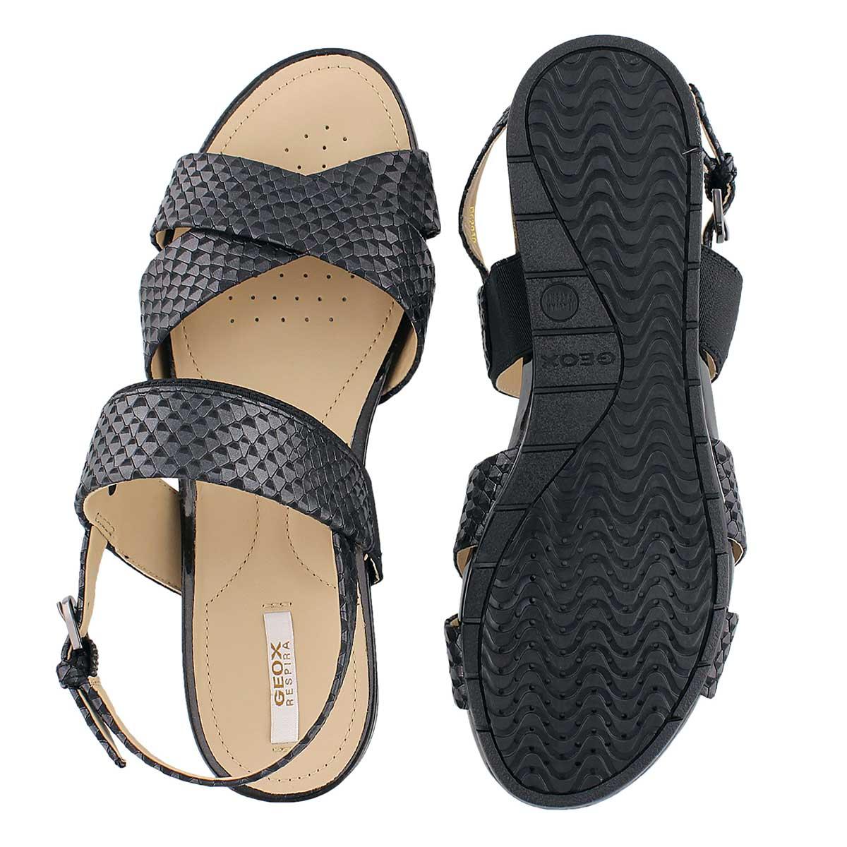 Lds Formosa black dress sandal