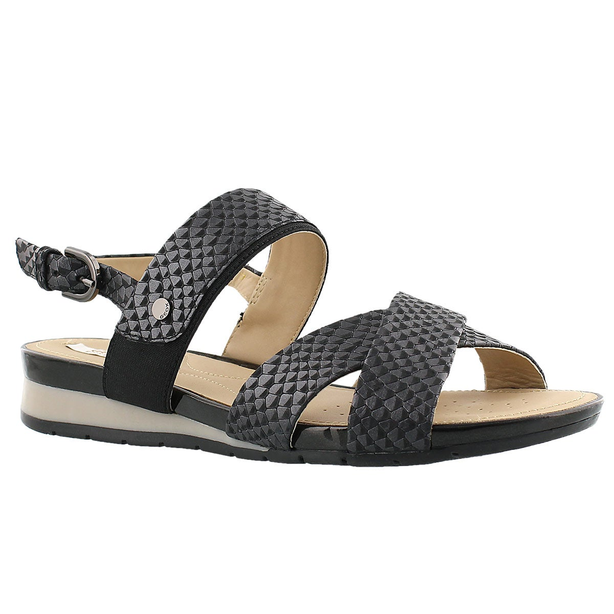 Lds Formosa black dress sandal