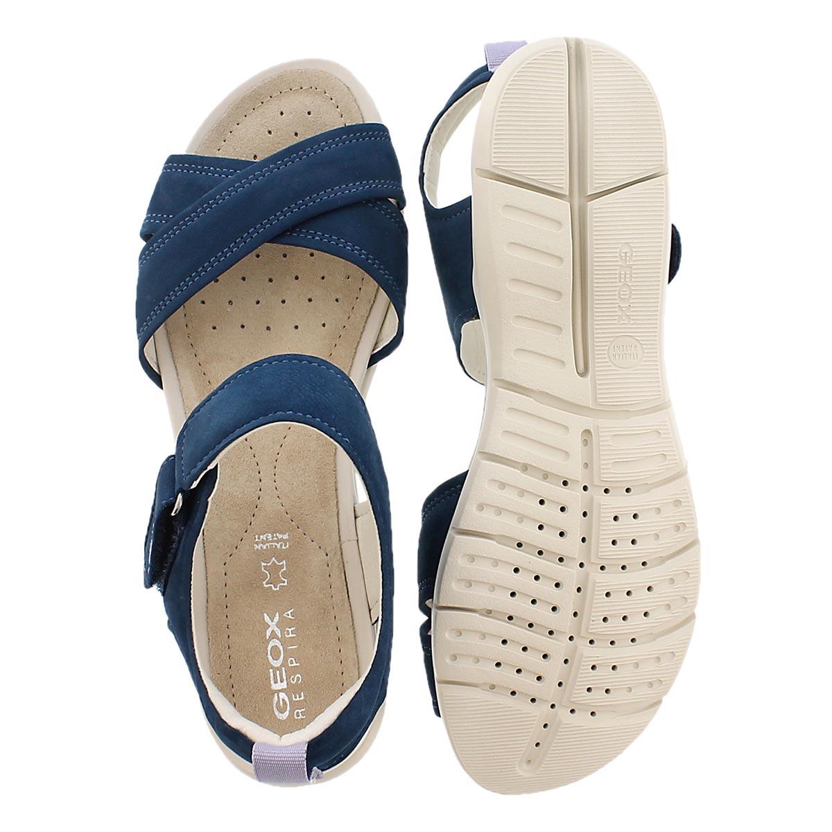 Lds Sukie denim casual sandal