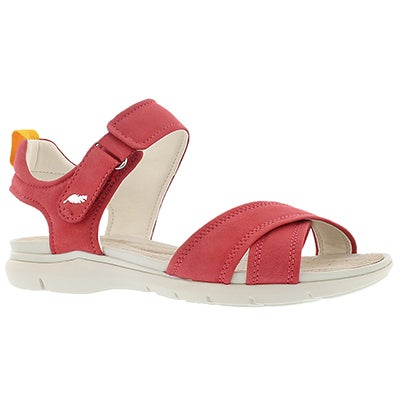 Geox Women's SUKIE coral casual sandals