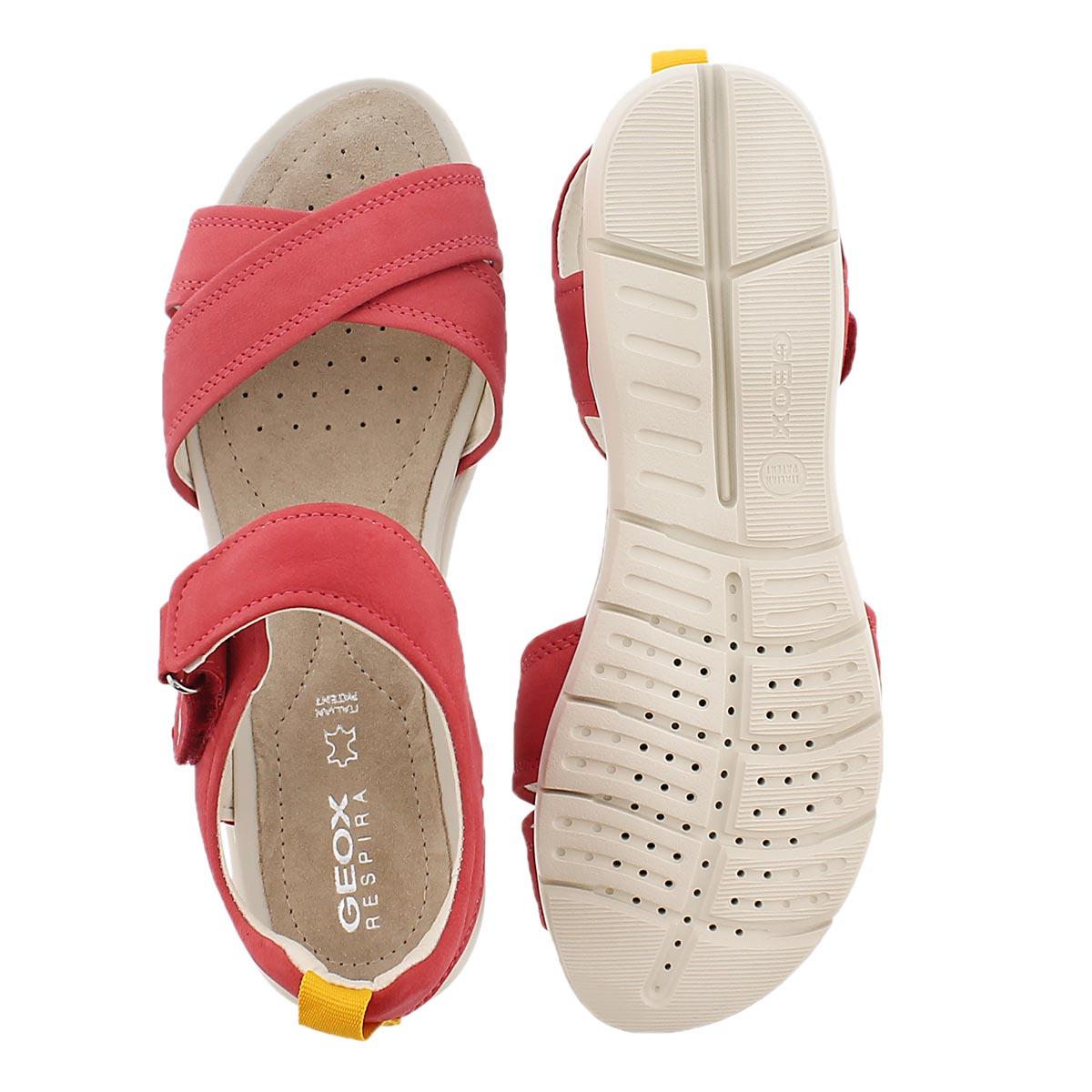 Lds Sukie coral casual sandal