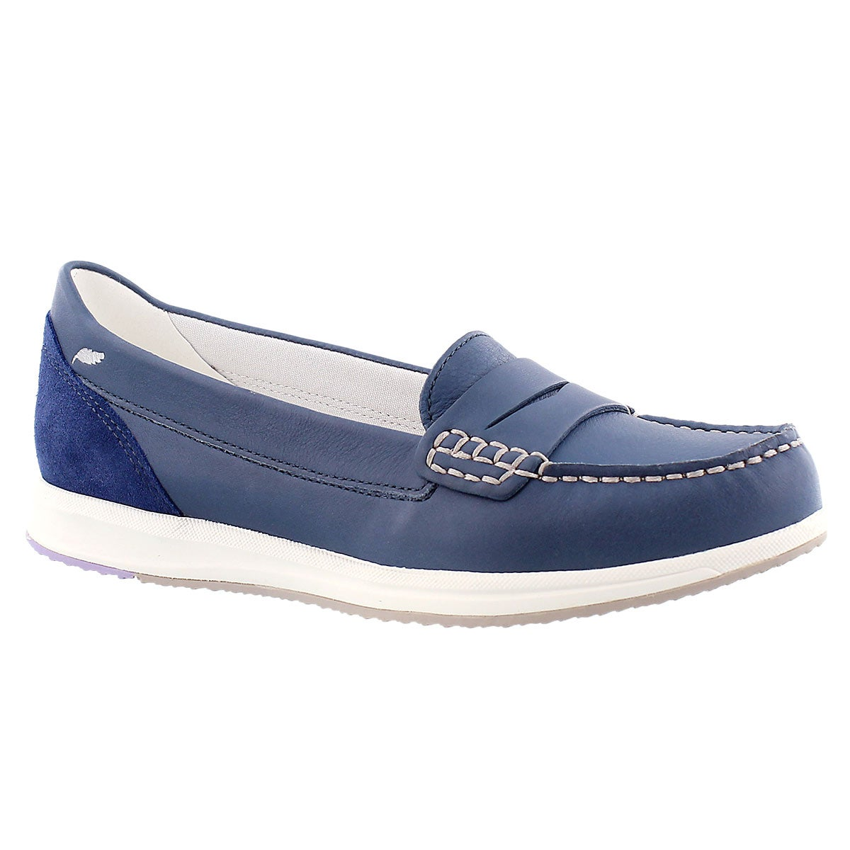 Women's AVERY denim slip on casual loafers