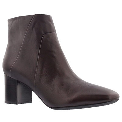 Geox Women's NEW SYMPHONY MID dark burgundy booties