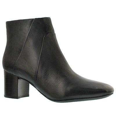 Geox Women's NEW SYMPHONY MID black booties