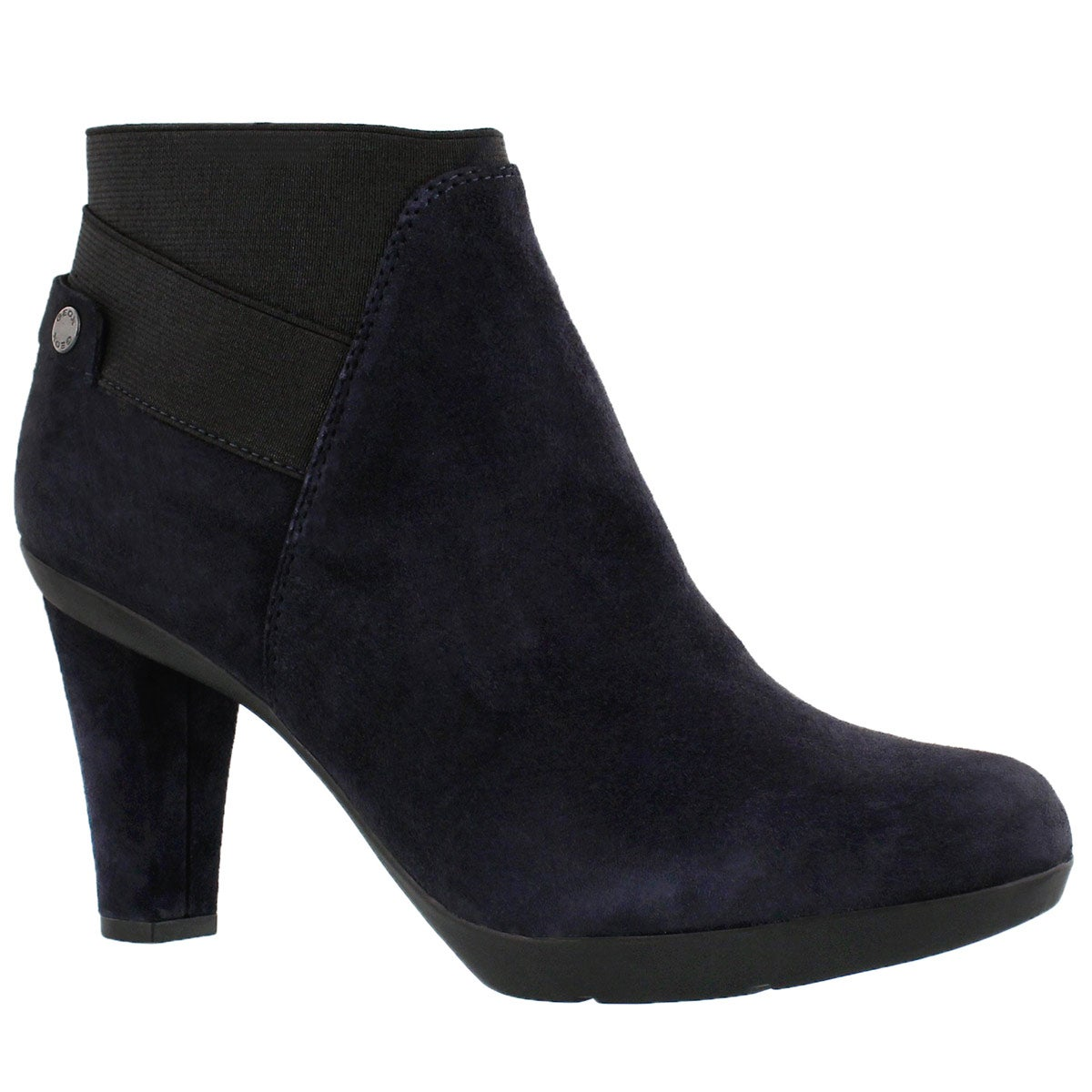 Women's INSPIRATION STIV navy suede ankle boots
