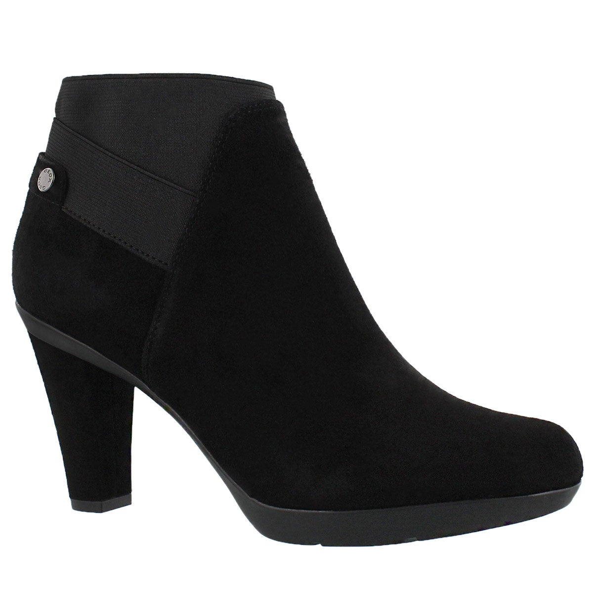 Women's INSPIRATION STIV black suede ankle boots