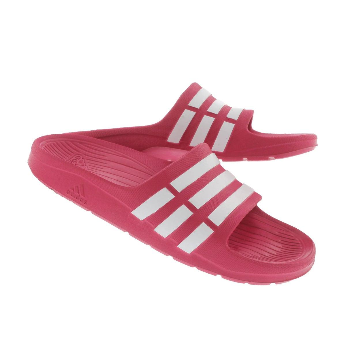 Grls Duramo pink slide sandal