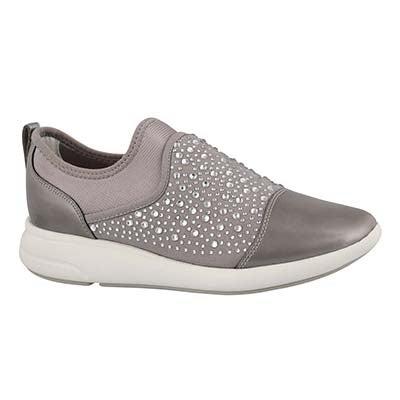 Lds Ophira light grey slip on sneaker