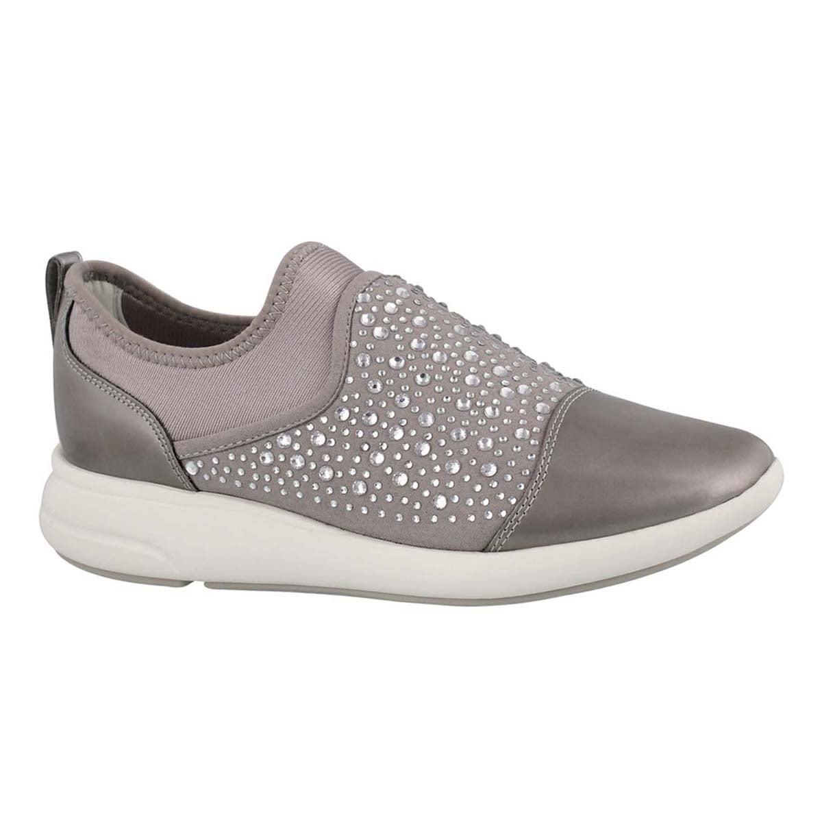 Women's OPHIRA light grey slip on sneakers
