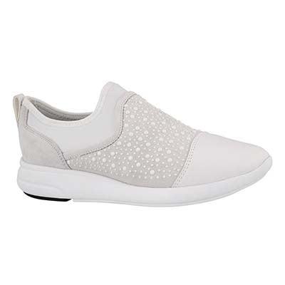 Lds Ophira off white slip on sneaker