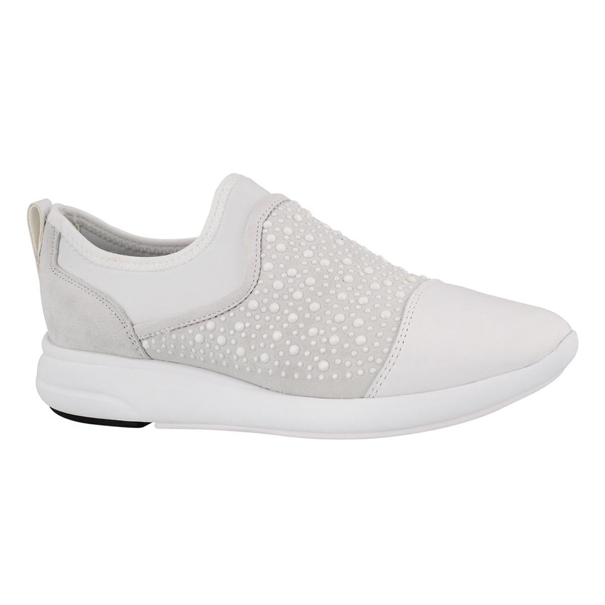 Women's OPHIRA off white slip on sneakers