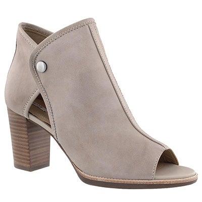 Lds Callie lt tpe peep toe dress bootie