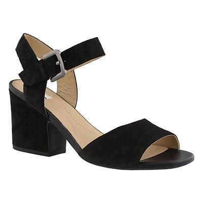 Lds Marilyse B black dress sandal