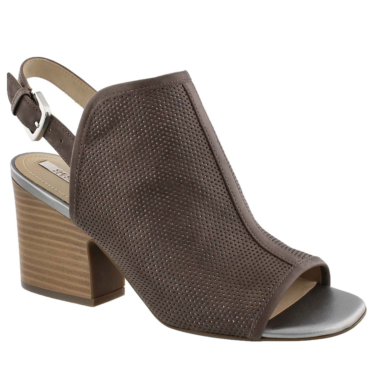 Women's MARILYSE C taupe/silver dress sandals