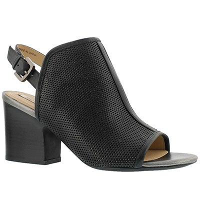 Lds Marilyse C black dress sandal