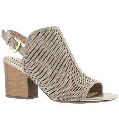 Lds Marilyse C lt taupe/gld dress sandal