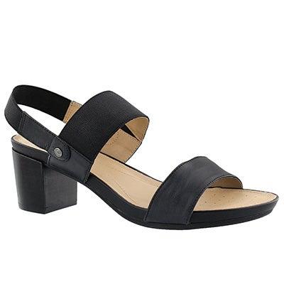 Lds Symi black dress sandal