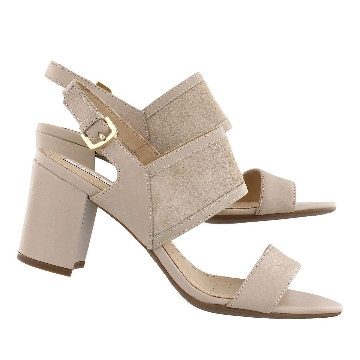 Lds Nesa B light taupe dress sandal