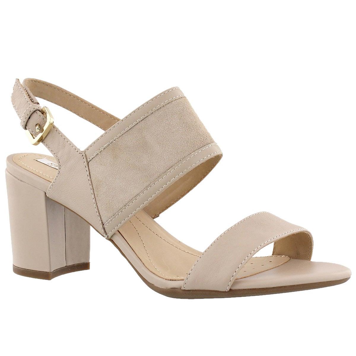Women's NESA B light taupe dress sandals