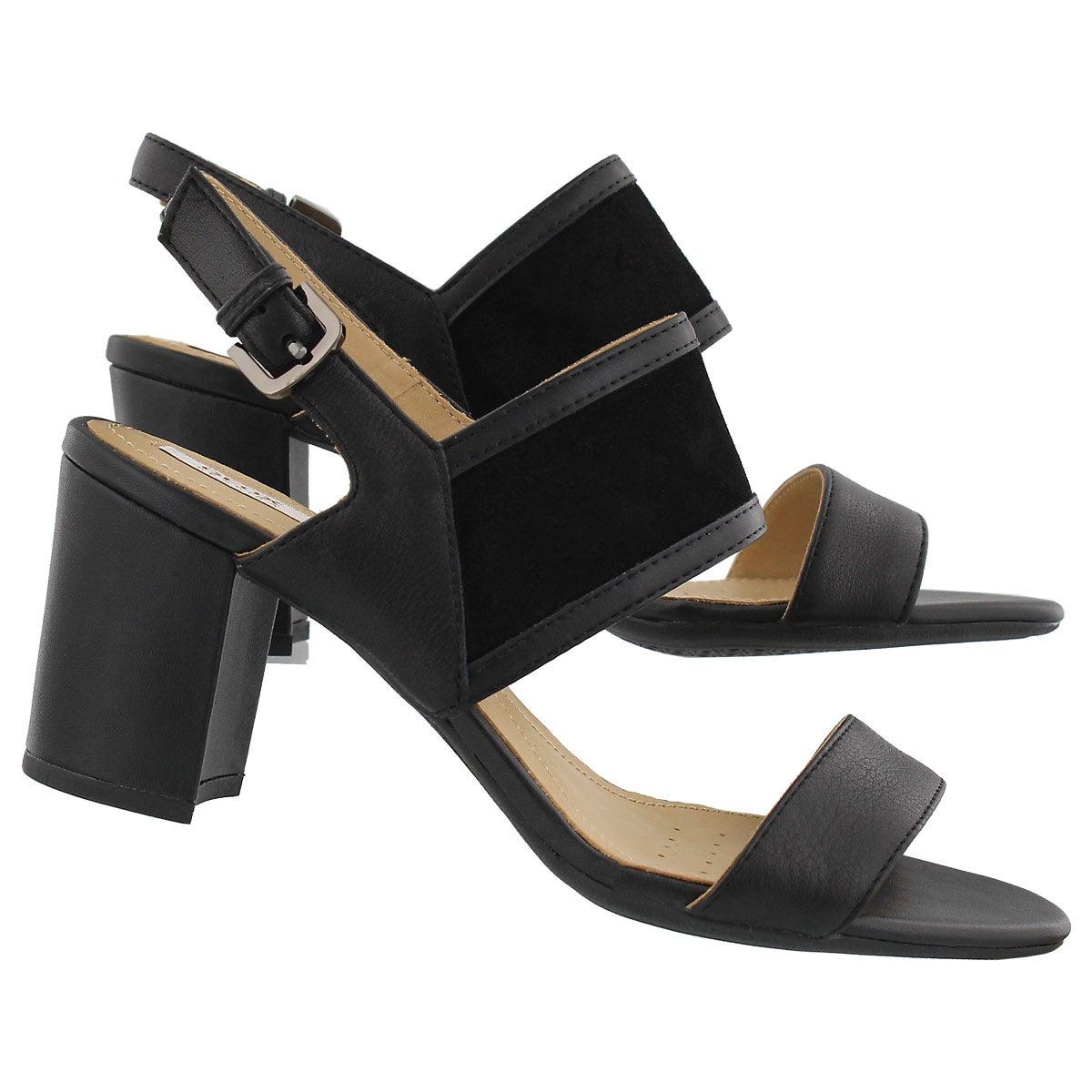 Lds Nesa B black dress sandal