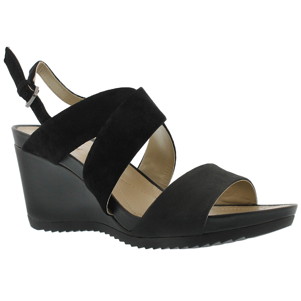 Women's NEW RORIE A black wedge sandals