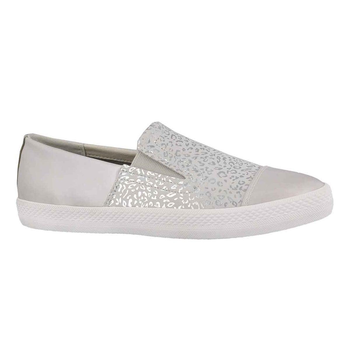 Women's GIYO off white slip on sneakers