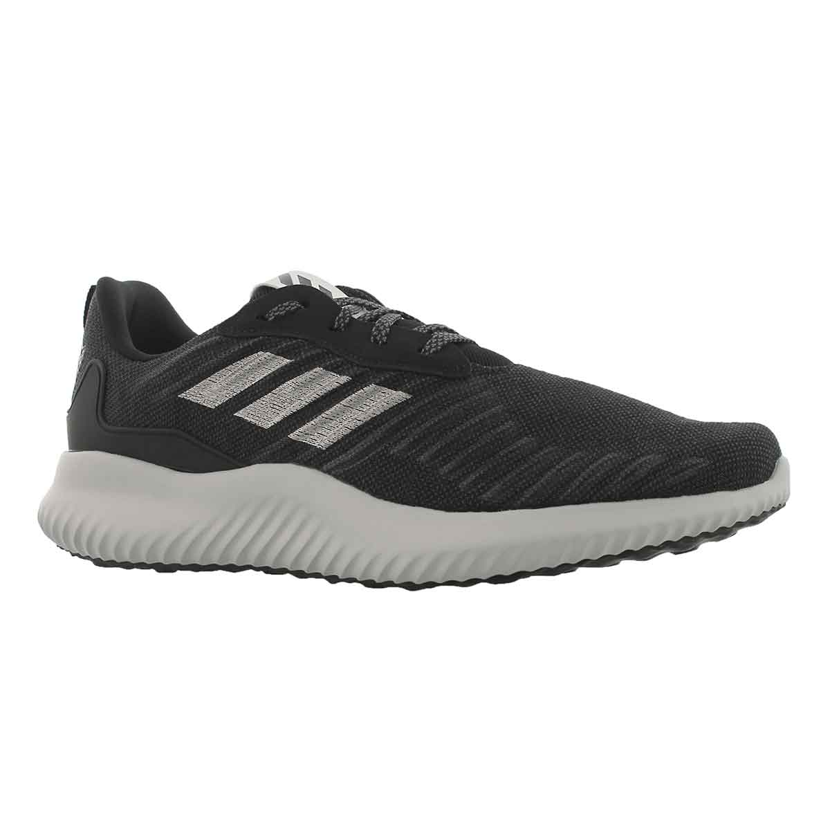 Men's ALPHABOUNCE black/silver running shoes