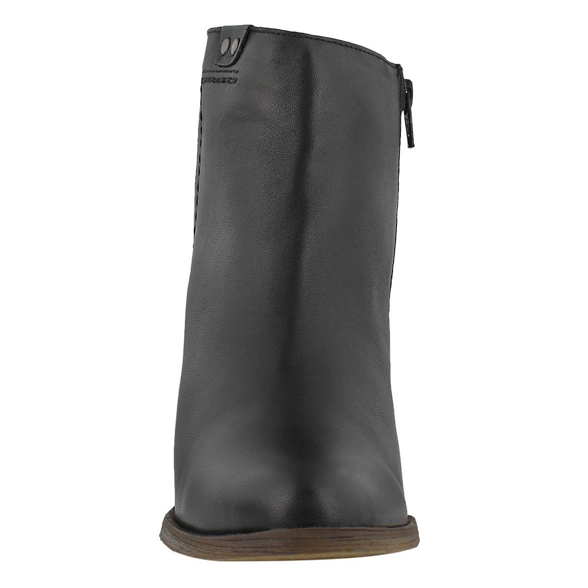 Lds Dacia black ankle bootie