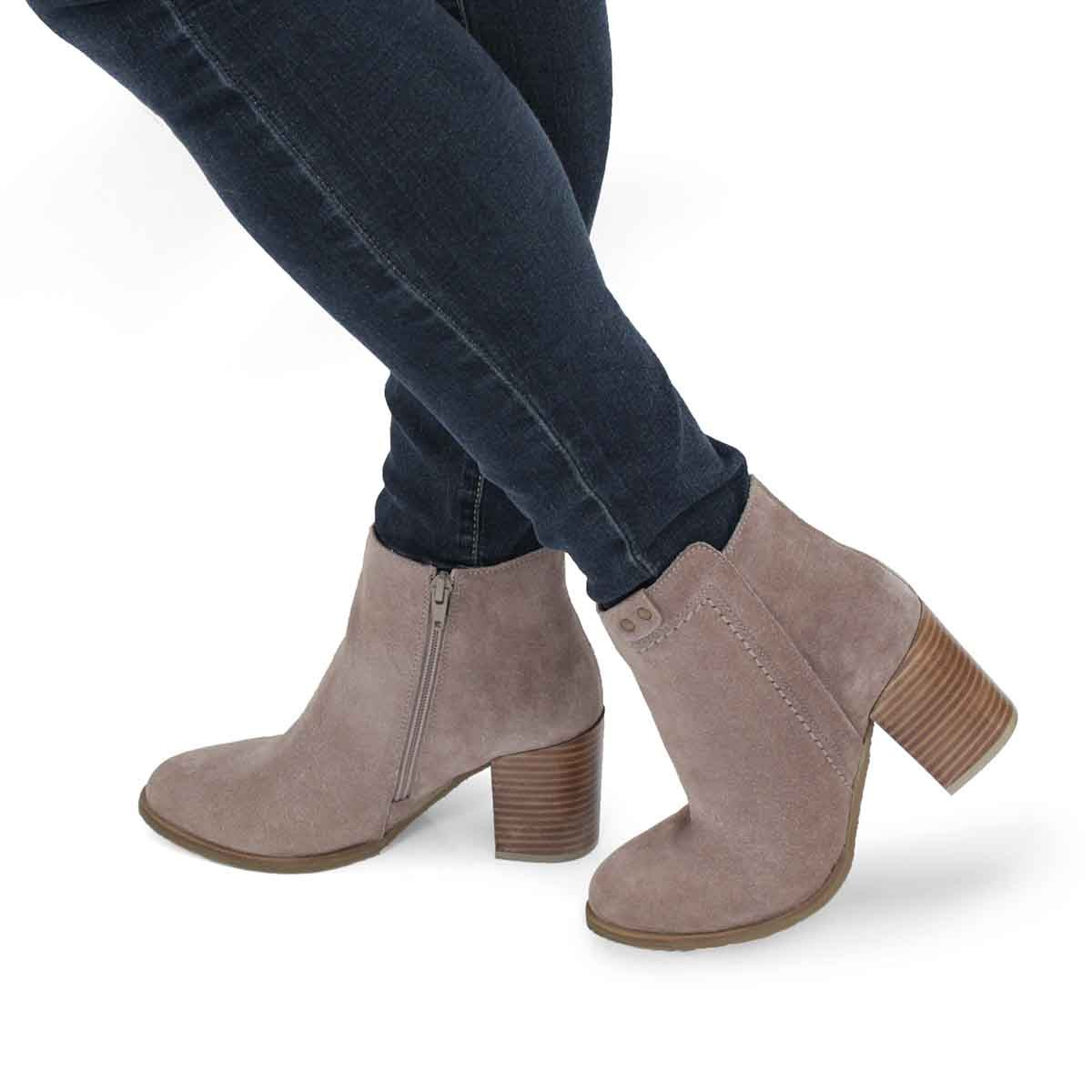 Lds Dacia taupe ankle bootie