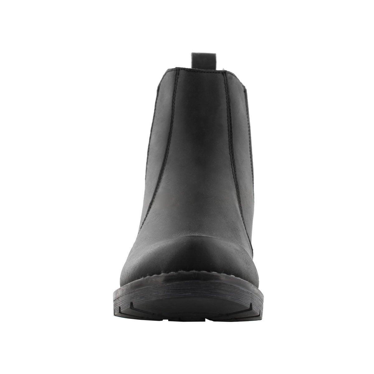Lds Daelyn black chelsea boot
