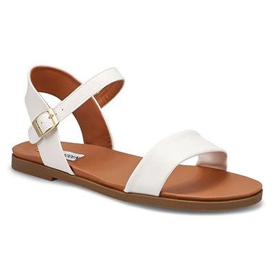 Lds Daelyn white dress sandal