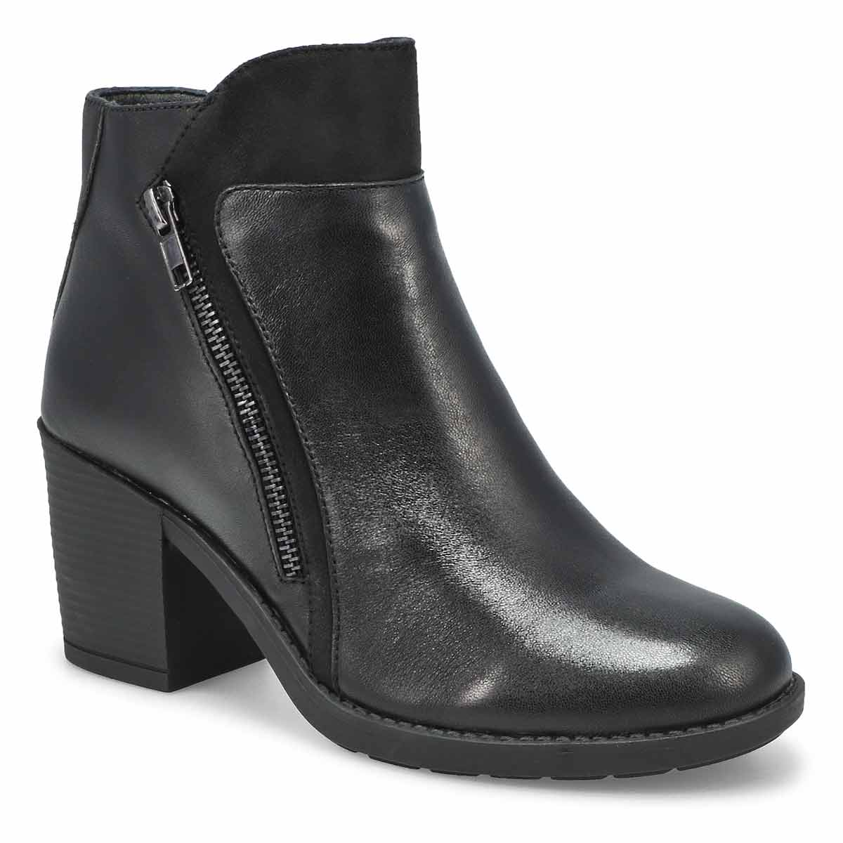 Women's DAISEY black casual ankle boots