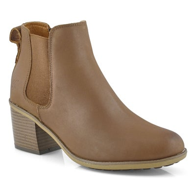 Lds Daisey 2 tan chelsea boot