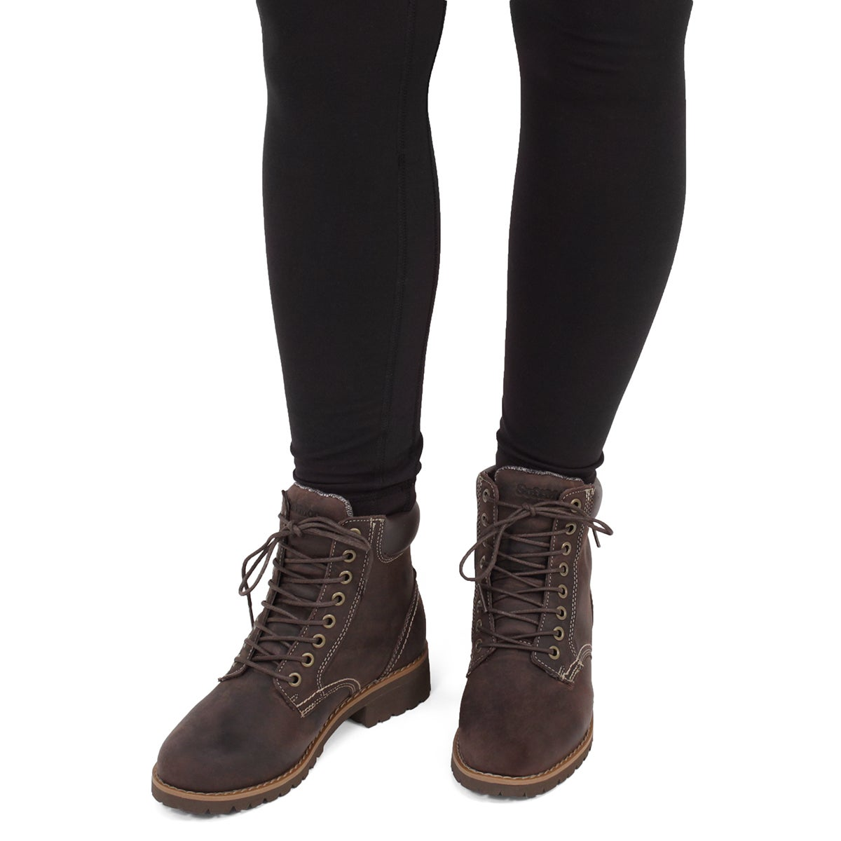 Lds Dalisse 2 brown combat boot