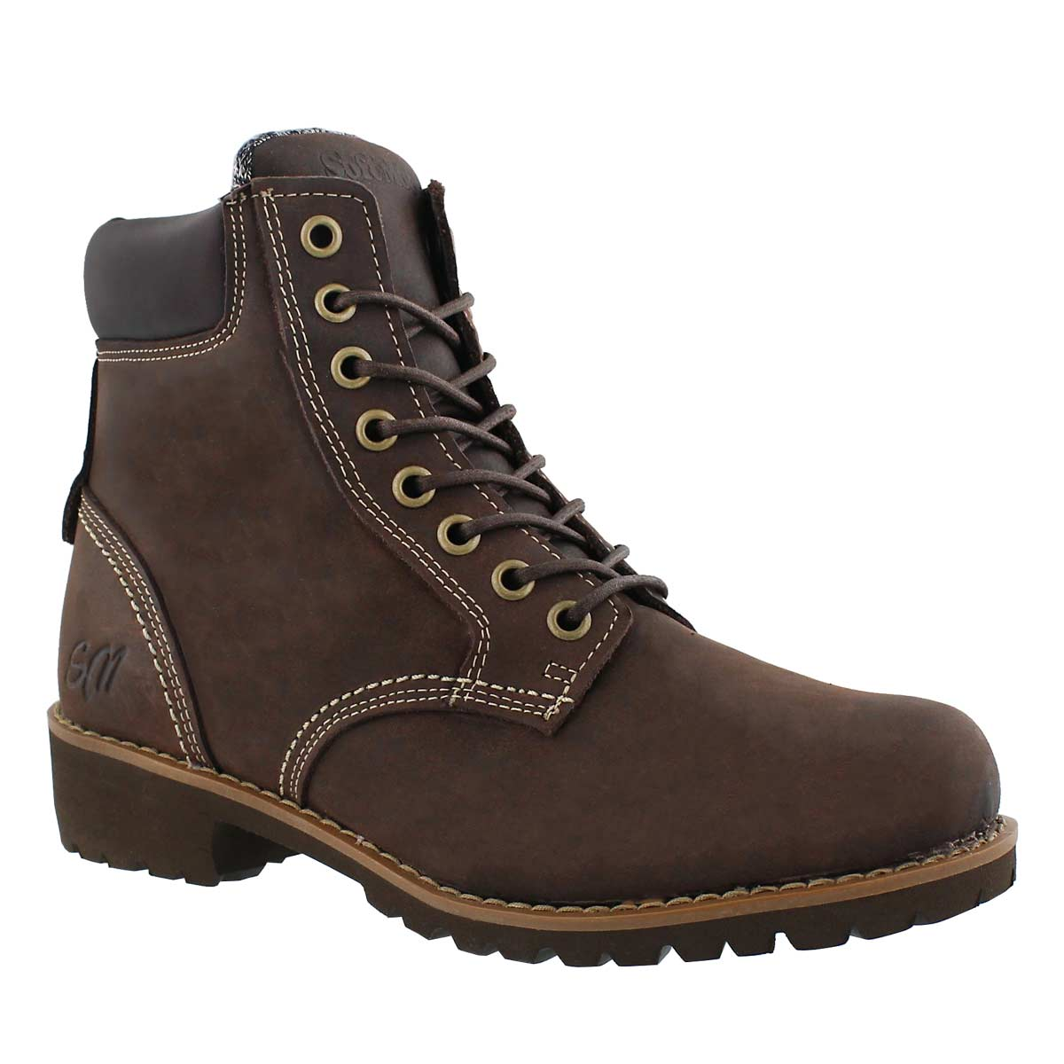 Women's DALISSE2 brown combat boot