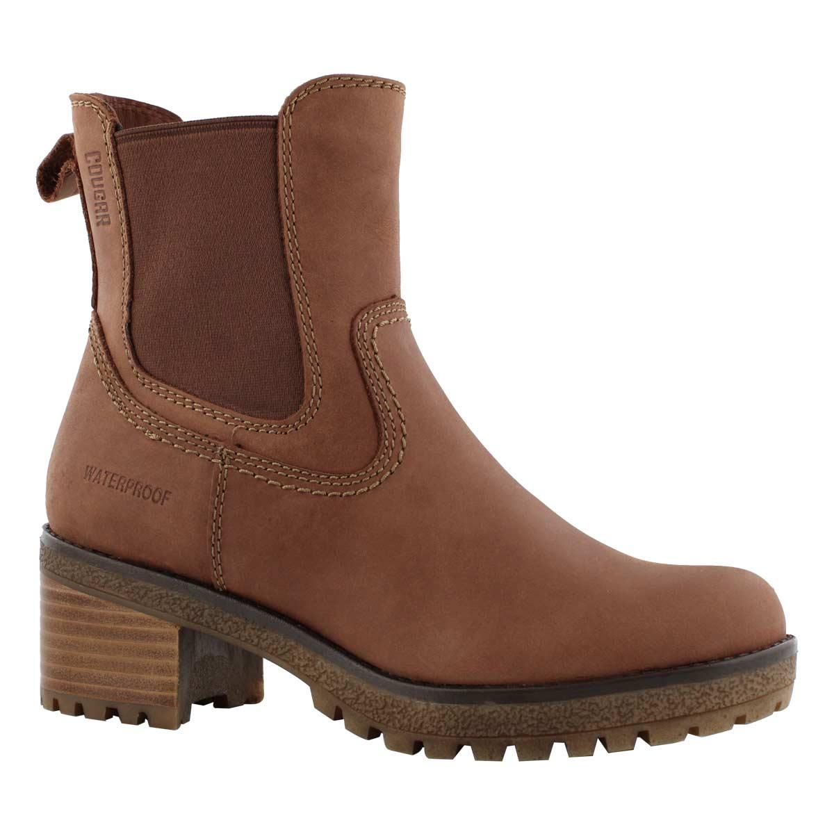 Lds Dallas brn wtpf slip on winter boot