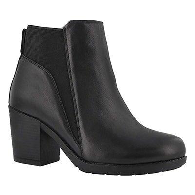 Lds Damara black ankle boot