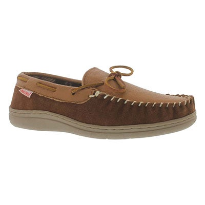 SoftMoc Men's DAMIEN spice lined leather moccasins