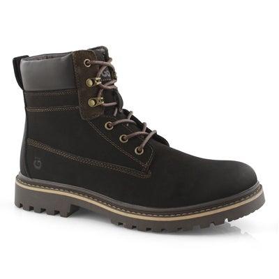 Mns Daniel dk brn waterproof snow boot