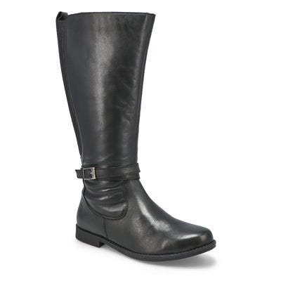 Lds Danifa black mid calf boot