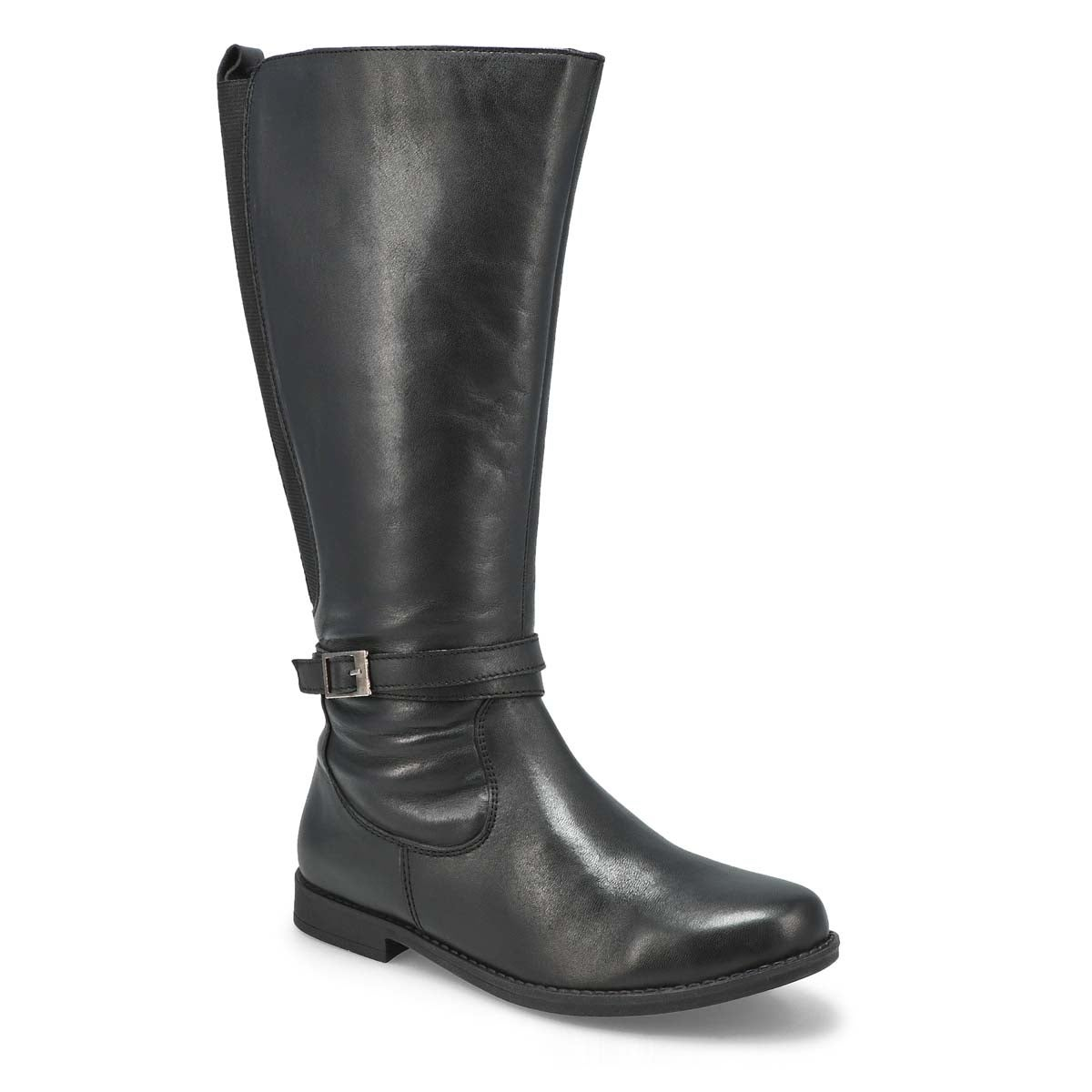 Lds Danifa black mid calf boot