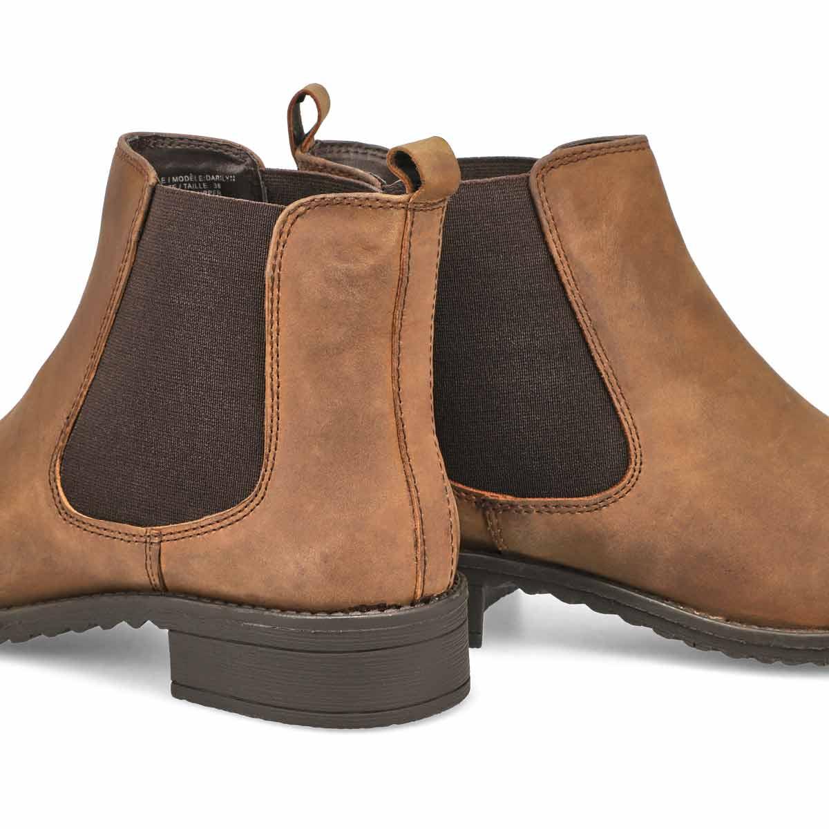 Lds Darilyn brown chelsea boot