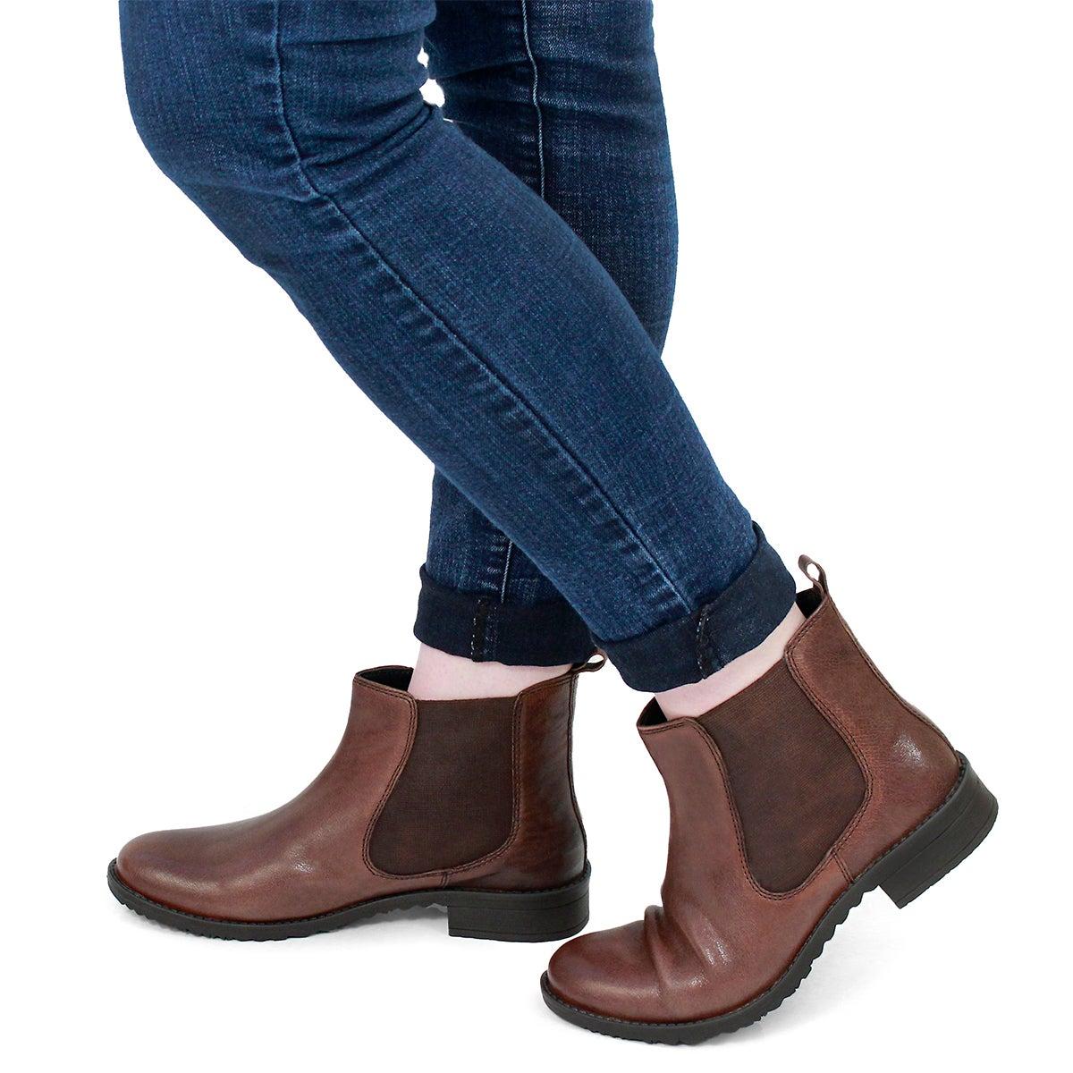 Lds Darilyn cognac chelsea boot