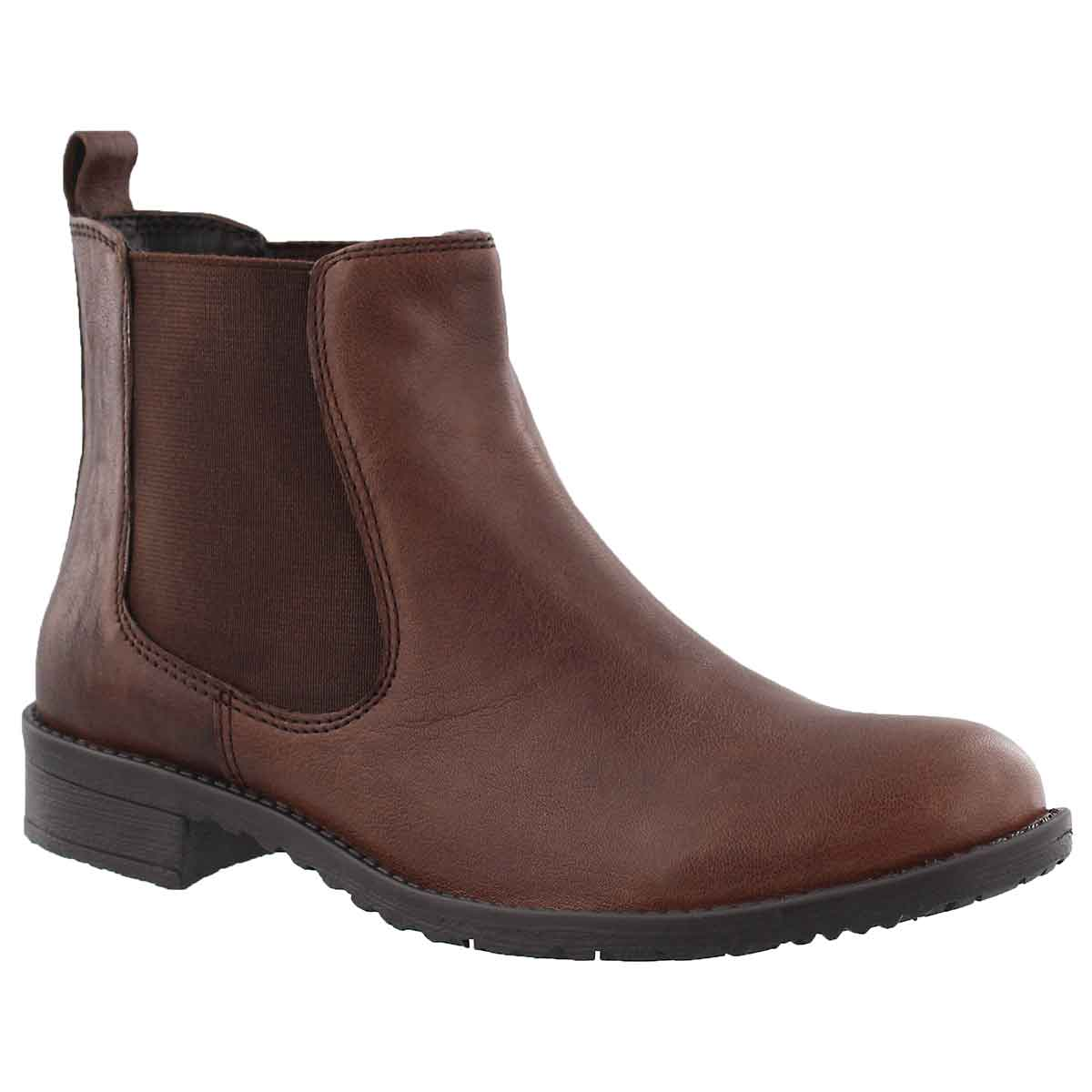 Women's DARILYN cognac chelsea boots