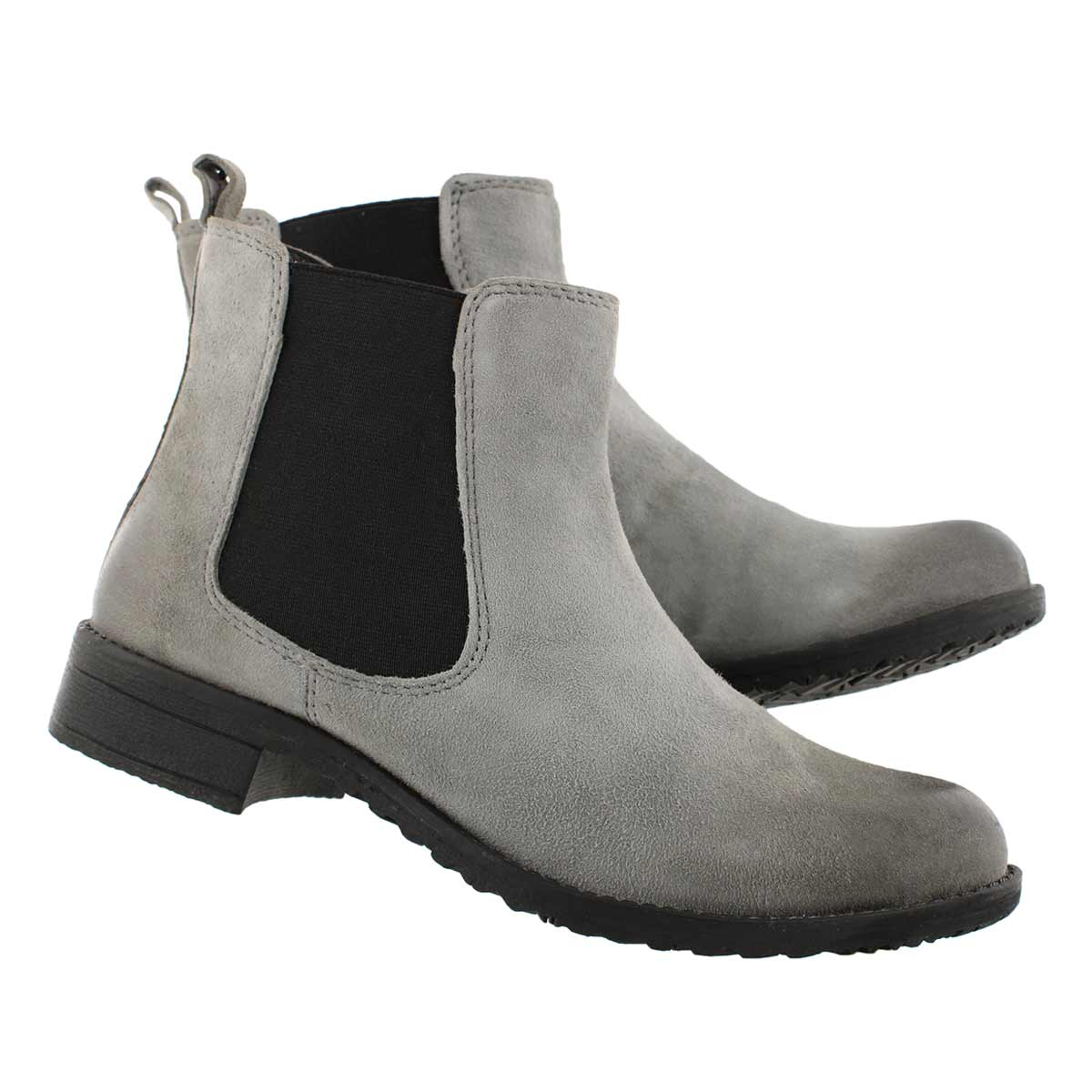 Lds Darilyn grey chelsea boot