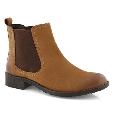 Lds Darilyn tan chelsea boot