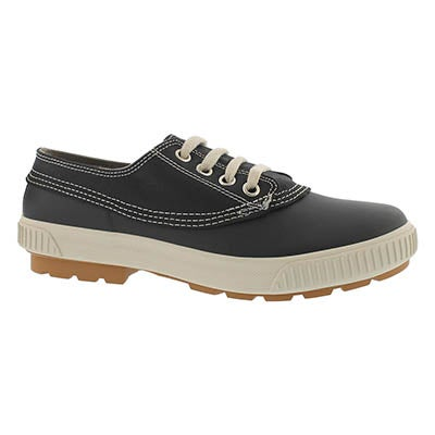 Lds Dash black waterproof lace up duckie