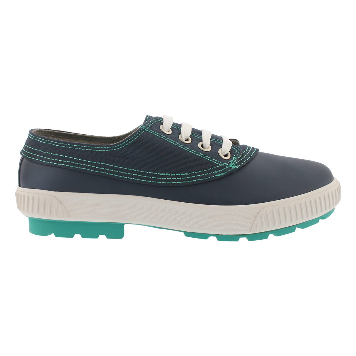 Lds Dash navy waterproof lace up duckie