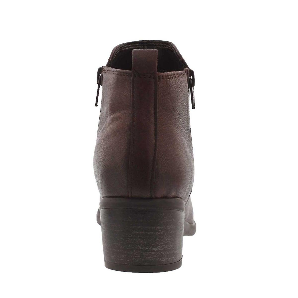 Lds Davina burg double side zip bootie