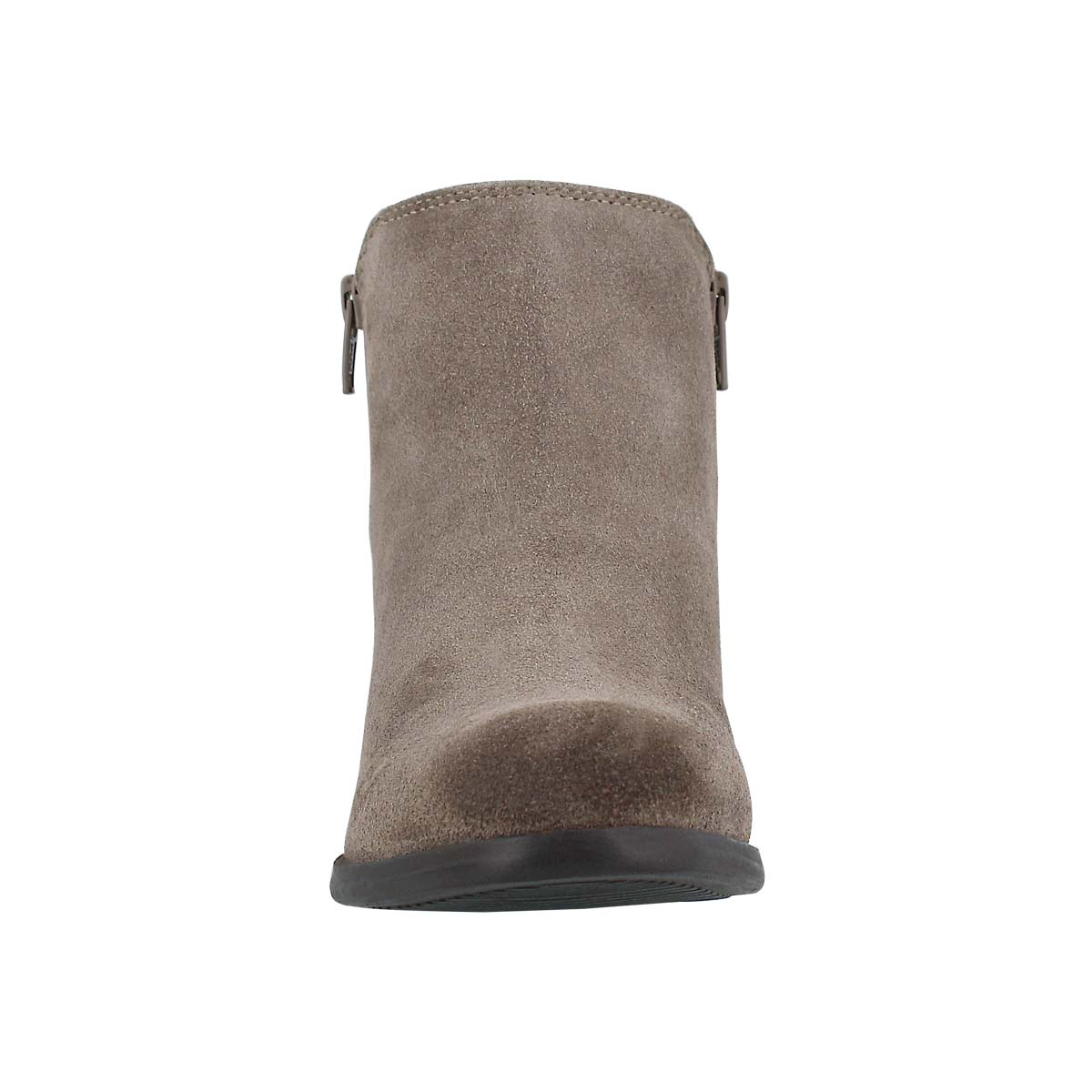 Lds Davina taupe double side zip bootie